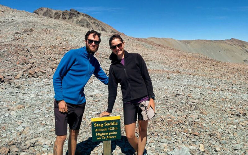 Nadine und Philippe 3000 Kilometer zu Fuss
